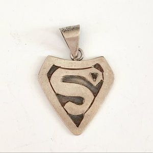 "Vintage ""Superman/Hope/House of El""Charm"